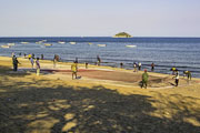 Beach near the city