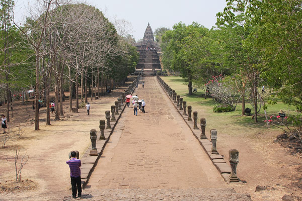 Angkor temples at Phanom Rung