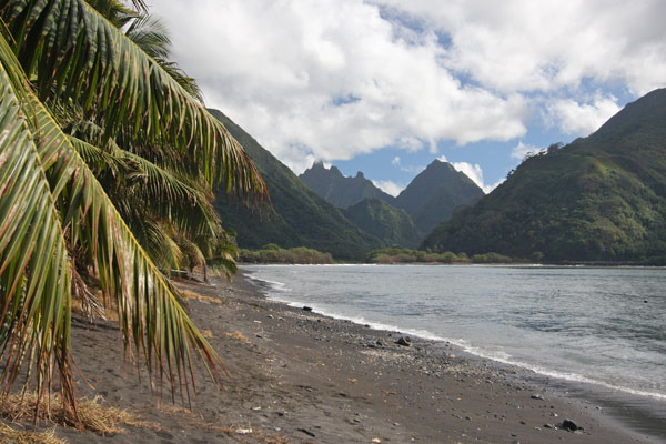 Northeast coast of Tahiti