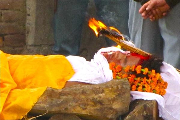 Hindu Cremation In Katmandu Travel Pictures